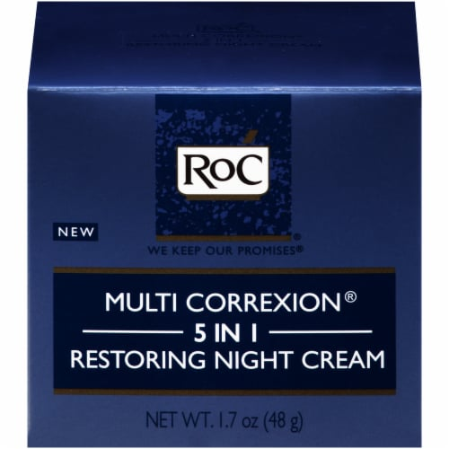 RoC Multi Correxion 5 in 1 Restoring Night Cream Perspective: front