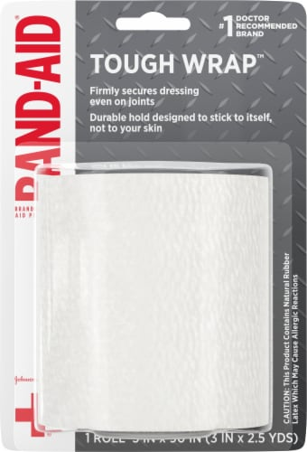Band-Aid Tough Wrap Perspective: front