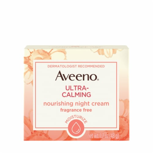 Aveeno Ultra Calming Night Cream Perspective: front