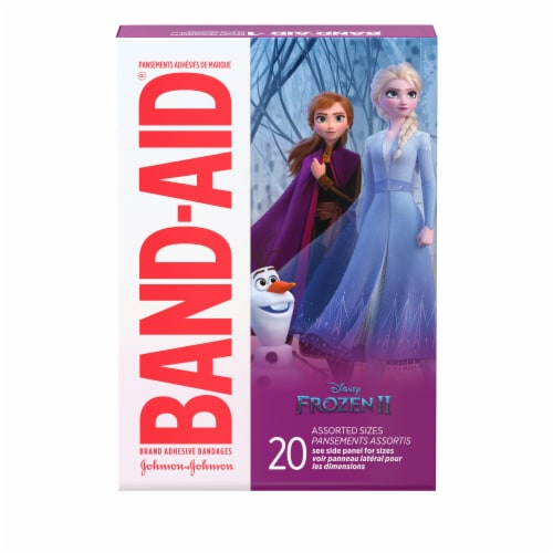 Band-Aid Disney Frozen 2 Assorted Bandages Perspective: front