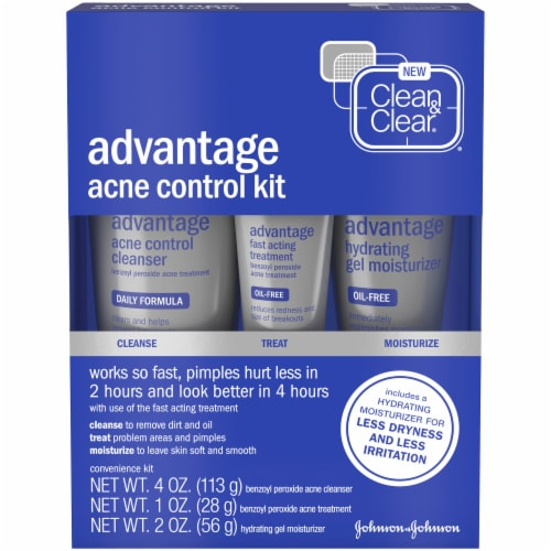 Clean & Clear Advantage Acne Control Kit Perspective: front
