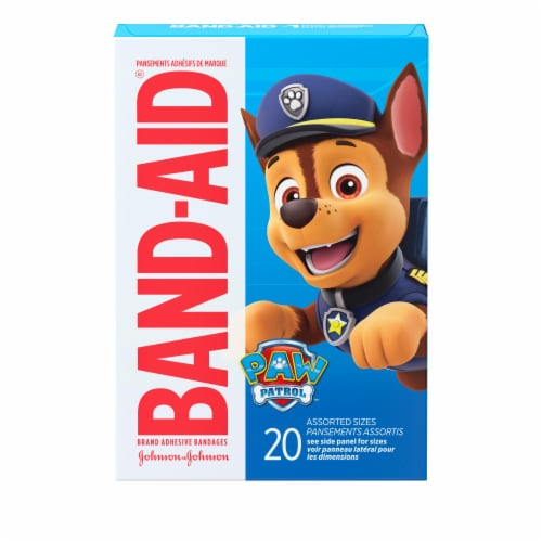 Band-aid Nickelodeon Paw Patrol Assorted Size Bandages Perspective: front