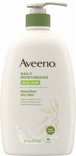 Aveeno Daily Moisturizing Body Wash Perspective: front