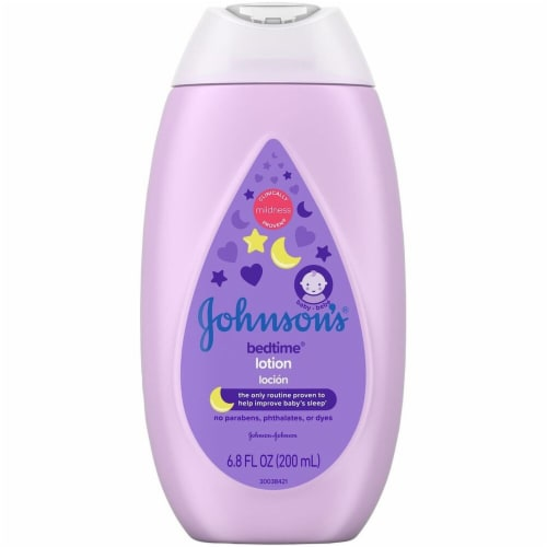 Johnson's Baby Bedtime Lotion Perspective: front