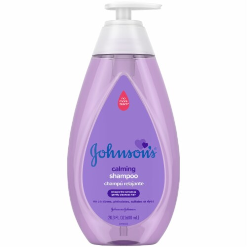 Johnson's® Calming Baby Shampoo Perspective: front
