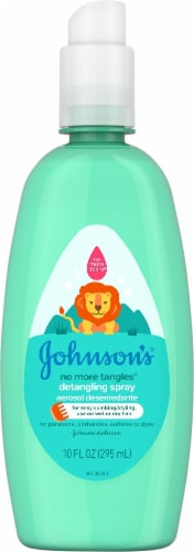 Johnson's No More Tangles Detangling Spray Perspective: front