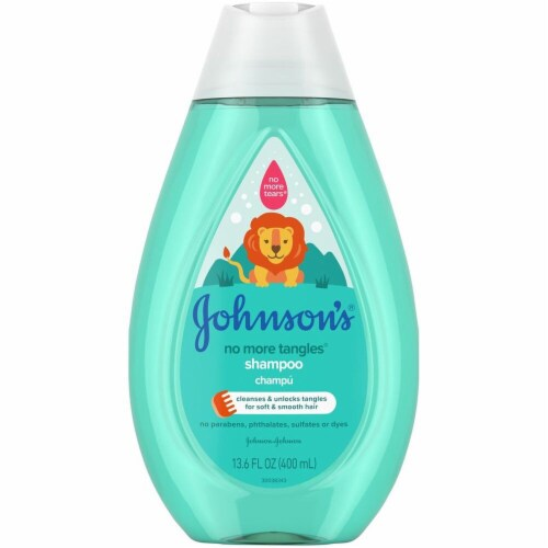 Johnson's No More Tangles Shampoo Perspective: front