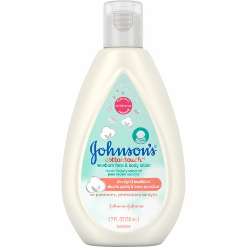 Johnson's Baby CottonTouch Newborn Face and Body Lotion Perspective: front