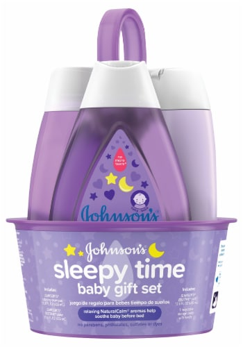 Johnson's Sleepy Time Baby Gift Set Perspective: front