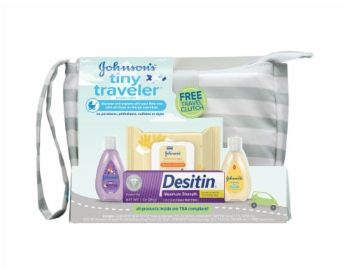 Johnson's Tiny Traveler Bath & Sink Essentials Perspective: front