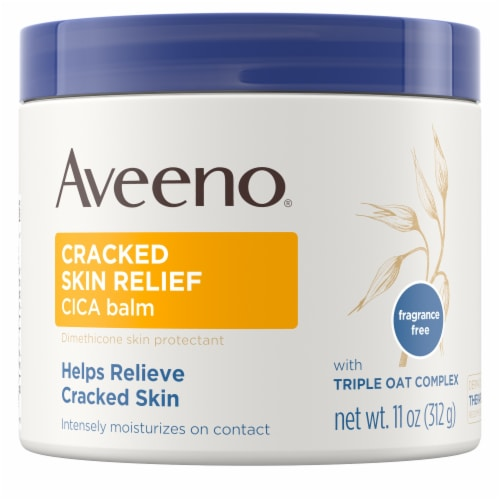 Aveeno Cracked Skin Relief CICA Balm Perspective: front