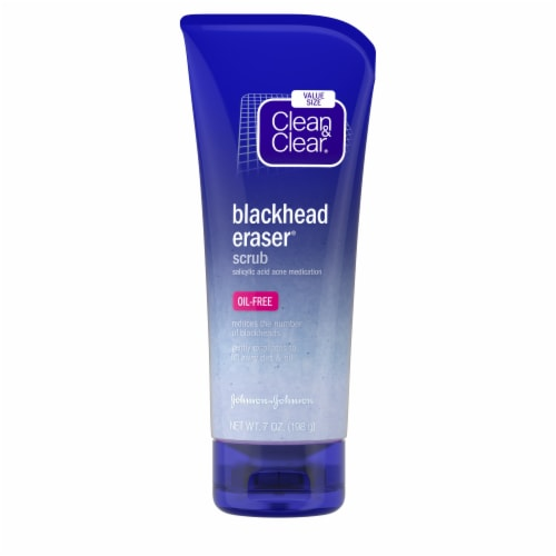 CleaNn & Clear Blackhead Eraser Scrub Perspective: front