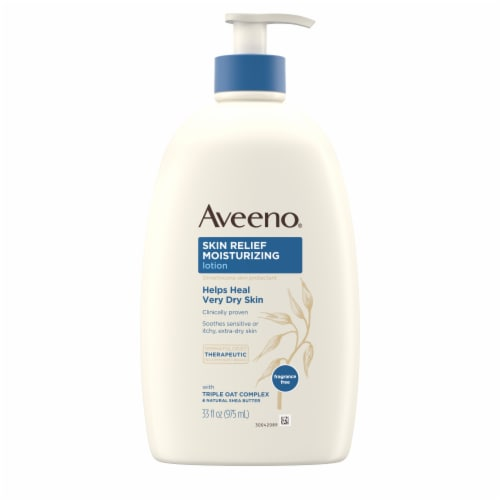 Aveeno Skin Relief Moisturizing Lotion Perspective: front