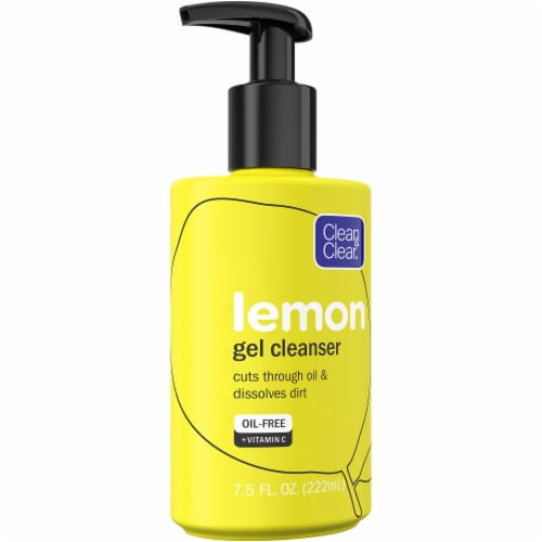 Clean & Clear Lemon Gel Cleanser Perspective: front