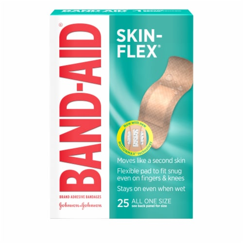 Band-Aid Skin-Flex All One Size Adhesive Bandages Perspective: front
