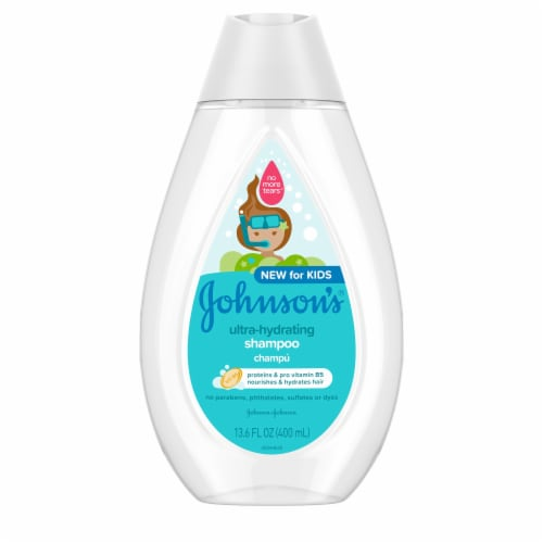Johnson's Ultra-Hydrating Shampoo Perspective: front