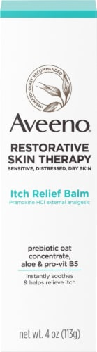 Aveeno Restorative Skin Therapy Itch Relief Balm Perspective: front