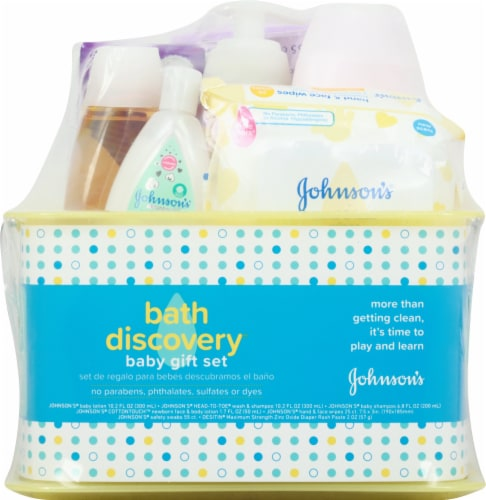 Johnson's Bath Discovery Baby Gift Set Perspective: front