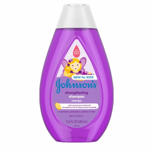 Johnson's Strengthening Shampoo Perspective: front