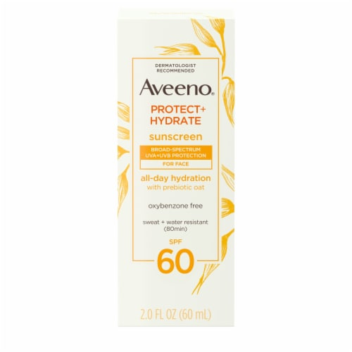 Aveeno Protect + Hydrate Sunscreen SPF 60 Perspective: front