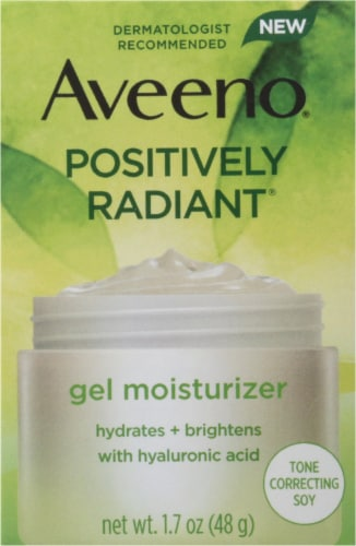 Aveeno Positively Radiant Gel Moisturizer Perspective: front