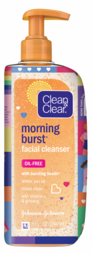 Clean & Clear Morning Burst Facial Cleanser Perspective: front