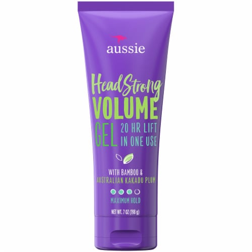 Aussie Headstrong Volume Maximum Hold Hair Gel Perspective: front