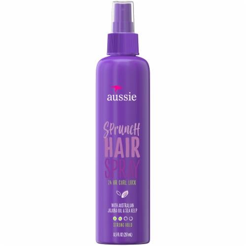 Aussie Sprunch with Jojoba Oil & Sea Kelp Non-Aerosol Hairspray Perspective: front