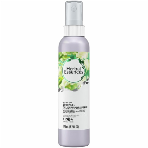 Herbal Essences Set Me Up Spray Gel with Lily of the Valley Essences Perspective: front