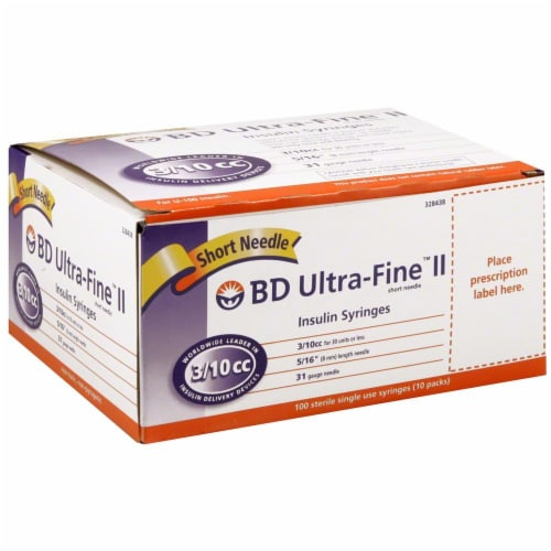 Smith's Food and Drug - BD Ultra-Fine II Short Insulin