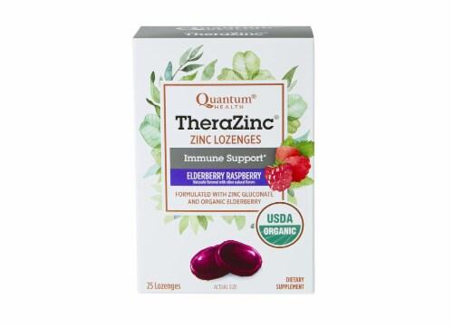 Quantum Health TheraZinc Zinc Lozenges Perspective: front