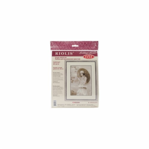 Old Photo: Riviera Counted Cross Stitch Kit-10.25''X15'' 14 Count Perspective: front