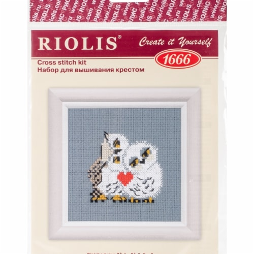 Riolis R1666 Love Counted Cross Stitch Perspective: front