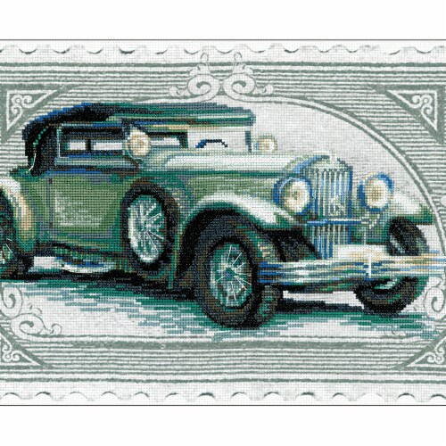 Riolis R0031 PT 15 x 10.25 in. Wikov Counted Cross Stitch Kit - 14 Count Perspective: front