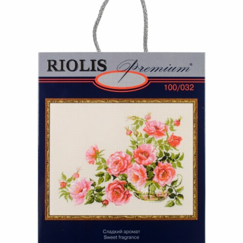 Riolis R100-032 19.75 x 15.75 in. Sweet Flavor Counted Cross Stitch Kit - 14 Count Perspective: front