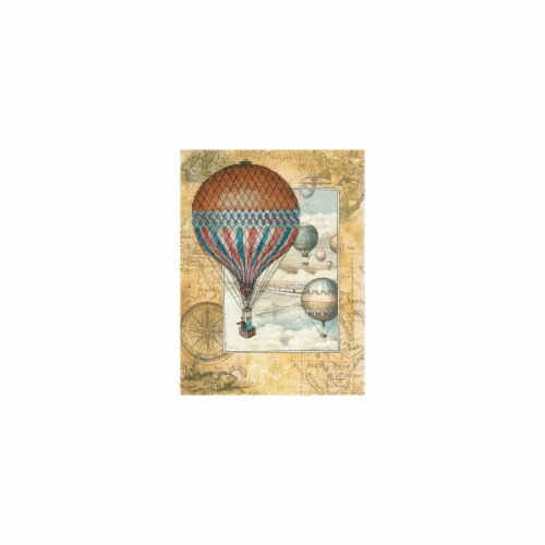 RIOLIS R0033 PT Around The World Counted Cross Stitch Kit - 11.75 x 15.75 in. Perspective: front