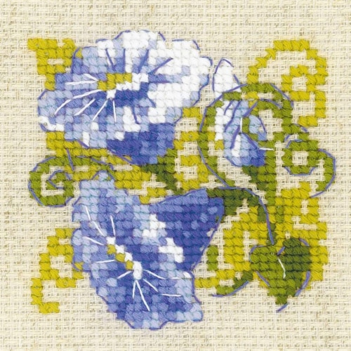Riolis R1842 Purple Bindweed-Counted Cross Stitch Perspective: front