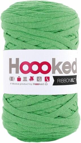 Hoooked Ribbon XL Yarn-Salad Green Perspective: front