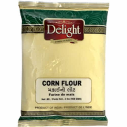 Delight Corn Flour - 908 Gm Perspective: front