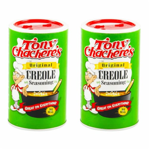 Tony Chacheres Seasoning Creole 8 Oz (2 Pack) Perspective: front