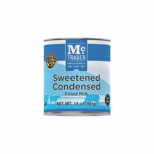 MC Trader Sweetened Condensed Filled Milk Perspective: front