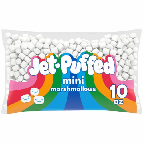 Jet-Puffed Miniature Marshmallows Perspective: front