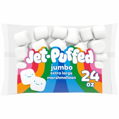 Jet-Puffed Jumbo Extra Large Marshmallows Perspective: front
