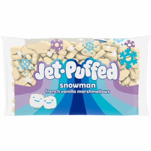 Jet-Puffed Pumpkin Spice Marshmallows Perspective: front