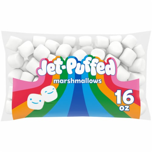 Jet-Puffed Marshmallows Perspective: front