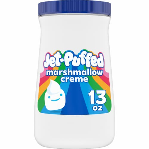 Jet-Puffed Marshmallow Creme Perspective: front