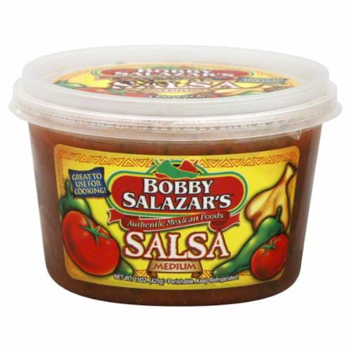 Bobby Salazar's Medium Salsa Perspective: front