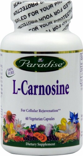 Paradise Herbs  L-Carnosine Perspective: front