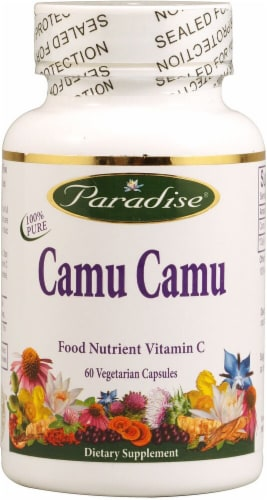 Paradise Herbs  Camu Camu Perspective: front