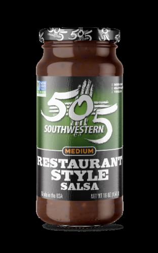 505 Southwestern Medium Restaurant Style Salsa Perspective: front